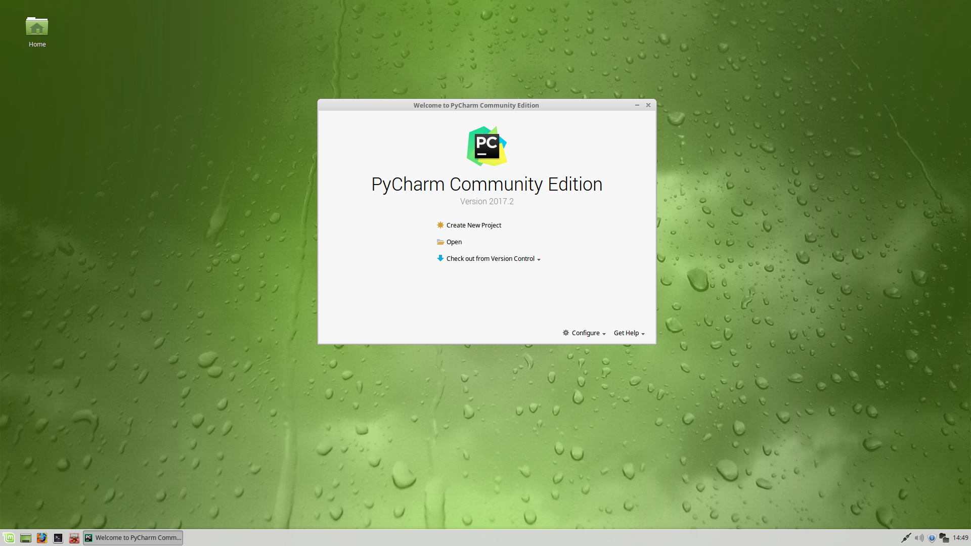 Pycharm Development Environment — VOLTTRON 6 0 documentation